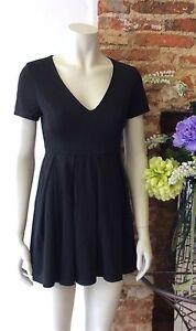 Black skater dress size 10