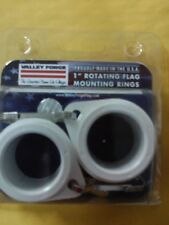 "1"" Rotating flag Mounting Ring  Valley Forge, #28219   FREE SHIPPING"