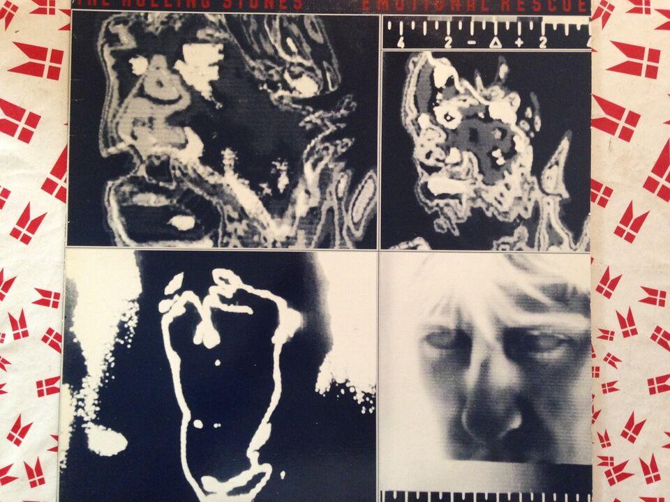 LP, Rolling stones, Emotional rescue