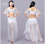 Blouse+Short Skirt with safty shorts+Long Skirt Belly Dance Costumes 2 way use