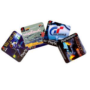 Untersetzer-PlayStation-Spiele-Klassiker-Bierdeckel-Unterleger-im-4er-Set