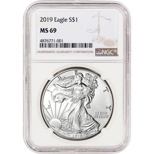 NGC MS69 2019 American Silver Eagle