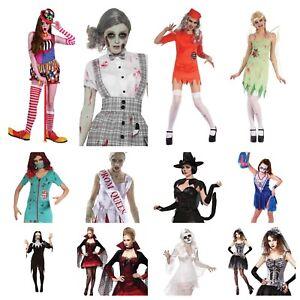 0038e13fd31 La imagen se está cargando  Para-Mujer-Vestido-Elaborado-Halloween-Aterrador-Payaso-Muneco-