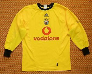 big sale 57b2d 5011f Details about 2004 - 2005 Benfica, Goalkeeper Football Shirt by Adidas,  Mens Small