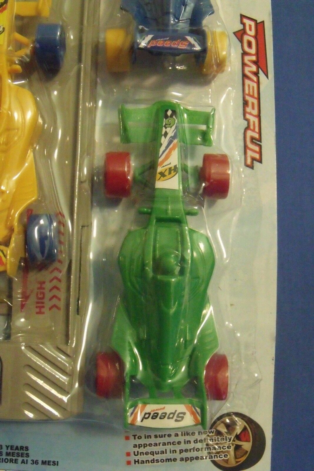 Toys New Super Racing Cars Set of of of 3 plus Launcher 4 inches f4bf3c