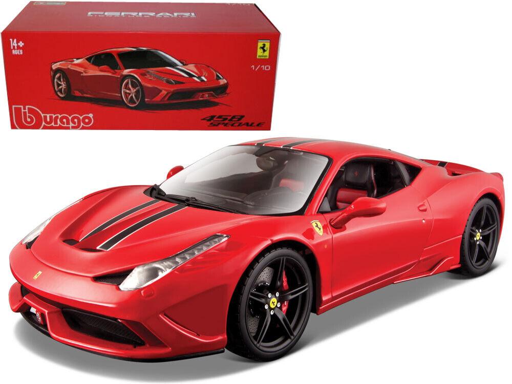 Bburago 1 18 Signature Series Ferrari 458 Speciale  Diecast Model Car rot 16903