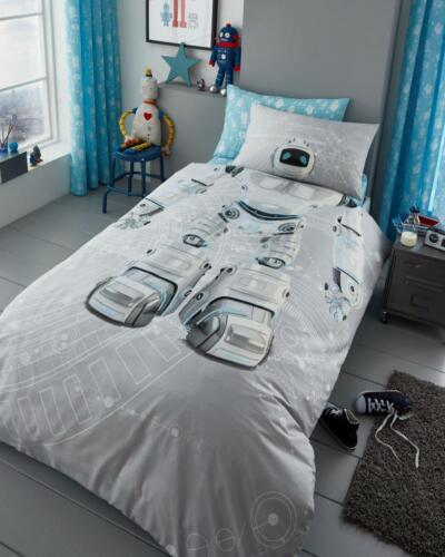 New Kids Duvet Sets /& Matching Fitted Sheet Boys /& Girls Quilt Covers In Single