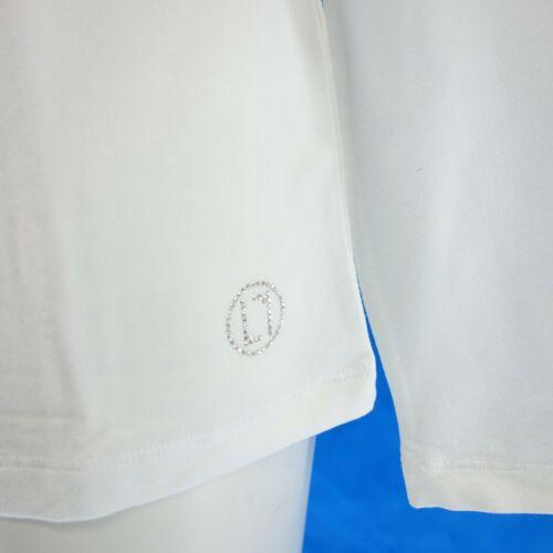 LAURÉL LaureL Damen Shirt 45020 Gr 38 44 Weiß Spitze am Ausschnitt NP 99 NEU