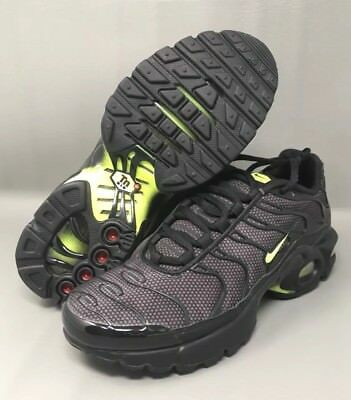 Nike Air Max Plus Tuned TN GS Black Yellow White 655020 057