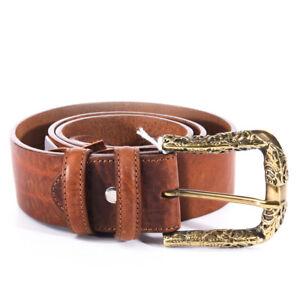 ELLIOT-RHODES-Belt-Brown-Leather-Size-Medium-Large-BG-466