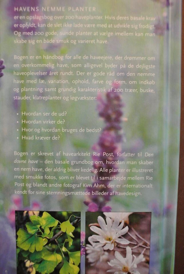 havens nemme planter, af rie post, emne: hus og have