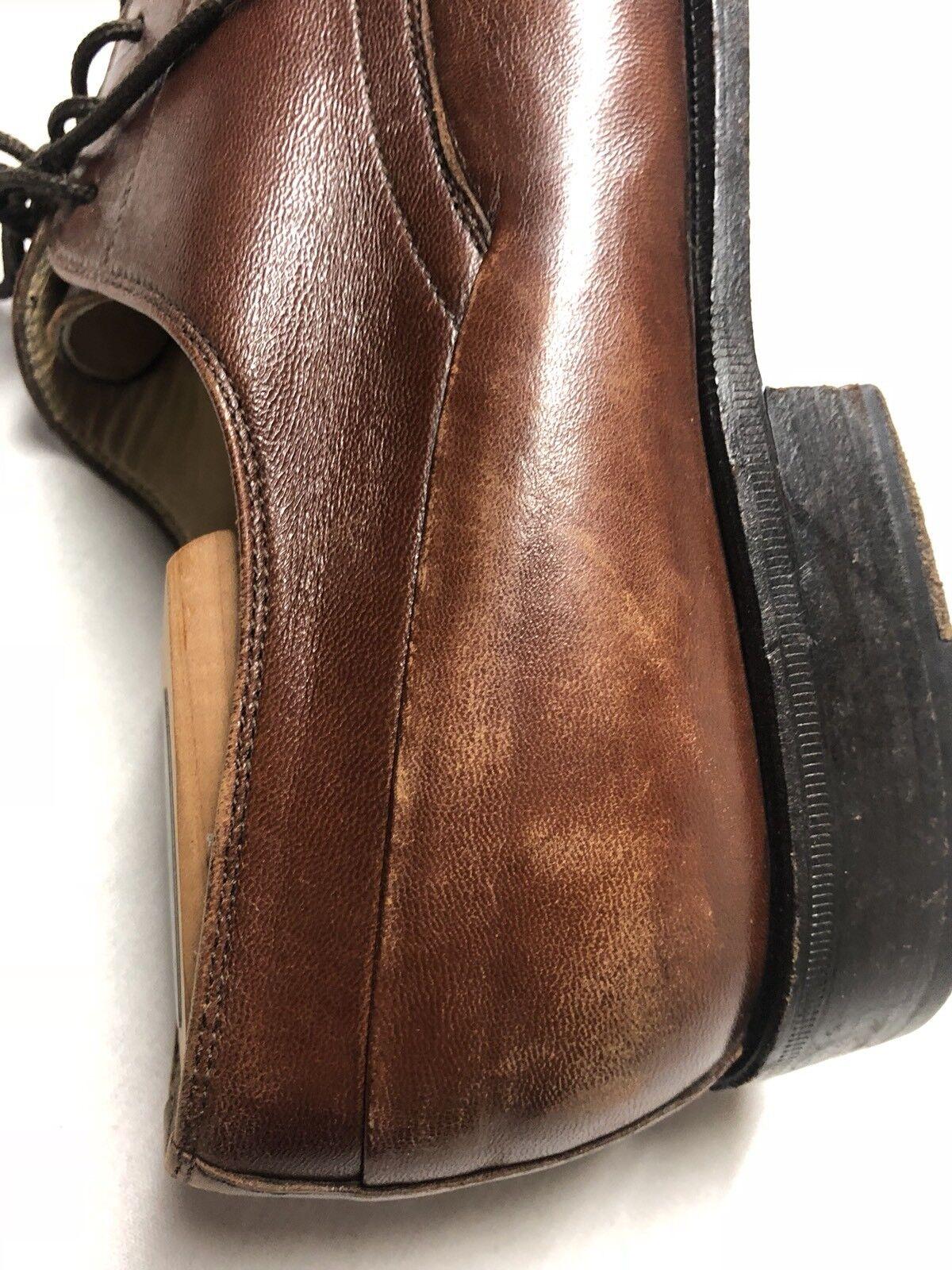 Bally   Herren Rogers Braun Leder Cap Toe Oxford Made Dress Schuhe Größe 11D Made Oxford in  67db59