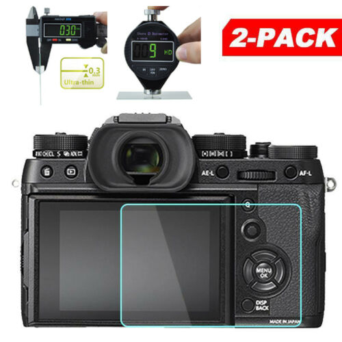 2Pcs Set 0.3mm Screen Protective Film For Fuji Fujifilm X-T2 X-T1 XT2 XT1 Camera