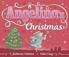 Angelina's Christmas von Katharine Holabird (2014, Taschenbuch)