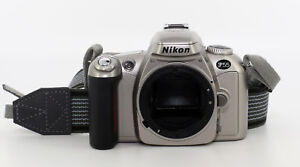 Nikon-F55-Spiegelreflexkamera-Body-Silber-Gebraucht