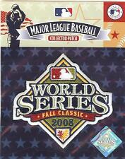 2008 World Series Sleeve Patch 100% Official MLB Jersey Logo Phillies