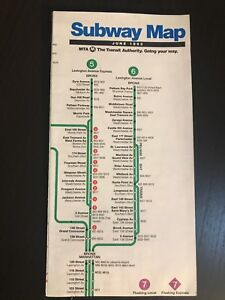 New York City Subway Map June 1993.Details About Vtg June 1993 Nyc New York City Subway Map Pocket Mta Guide Nycta New