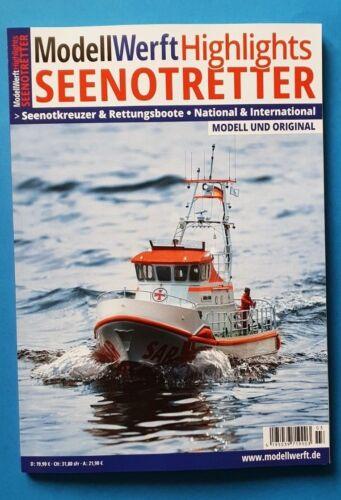 Modell Werft Highlights Seenotretter 2018 Modell und Original 145 S. ungelesen1A