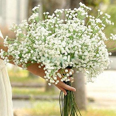 3pcs Silk Artificial baby's breath Gypsophila Flower Wedding Party Decor
