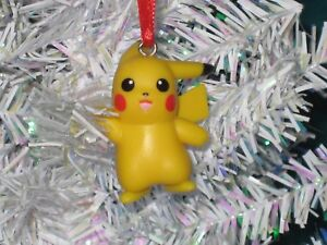 Pikachu Christmas Ornament.Details About Pikachu Christmas Ornament Pokemon Figure 5