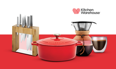 20% off* Kitchen Warehouse