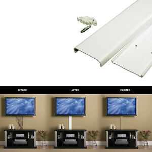 Concealer Wall Mount Cable Wire Cover