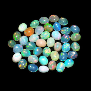 Natural-Opal-Ethiopia-9-80-Cts-41-Pcs-Flashy-Top-Quality-Gemstones-Wholesale-Lot