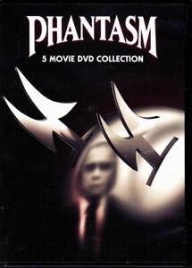 Phantasm 5 Movie DVD Collection Reggie Bannister, A. Michael Baldwin, Bill Thor