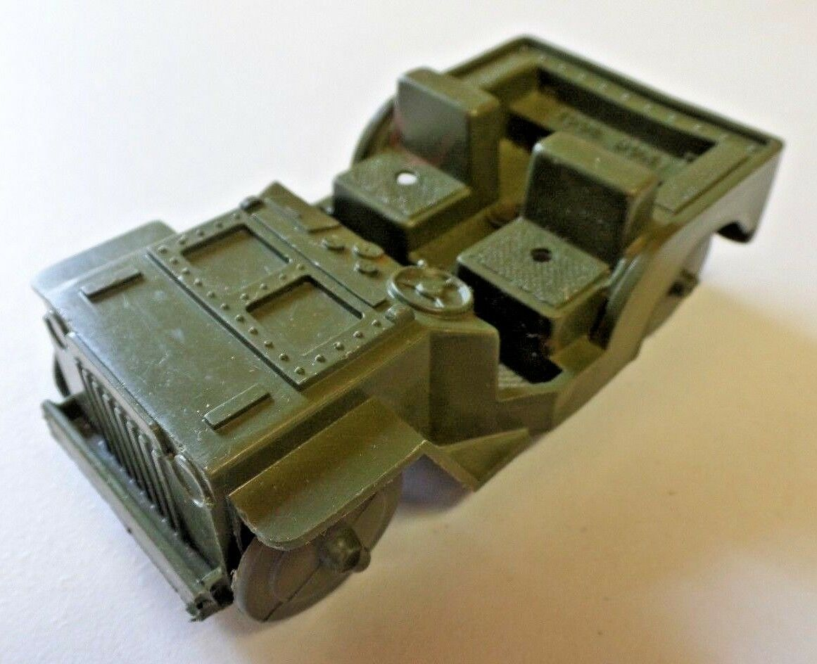 Vintage MPC Toy Army Command Plastic Army Army Army Jeep 5