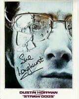SUE LONGHURST hand-signed STRAW DOGS 8x10 w/ uacc rd coa DUSTIN HOFFMAN POSTER