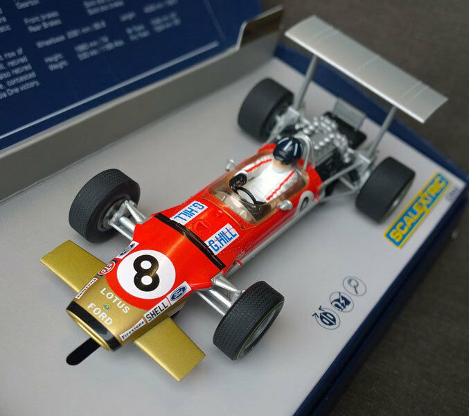 Scalextric C3543A Legends Lotus 49 F1 Graham Hill Slot Car 1 32