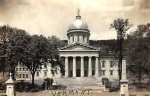 RPPC-State-House-Montpelier-Vermont-Capitol-Building-ca-1930s-Vintage-Postcard
