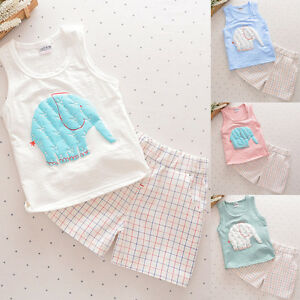 2PCS-Toddler-Kids-Baby-Boy-Vest-T-shirt-Tops-Shorts-Pants-Summer-Outfits-Clothes