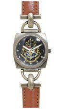 Harry Potter Hogwarts Crest Faux Leather Strap Women's Watch Gift New In Tin!
