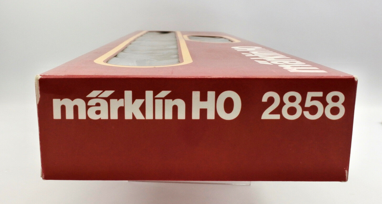 MARKLIN MARKLIN MARKLIN HO SCALE 2858 DB DIESEL ENGINE WITH 4 PASSENGER CAR SET a734dc