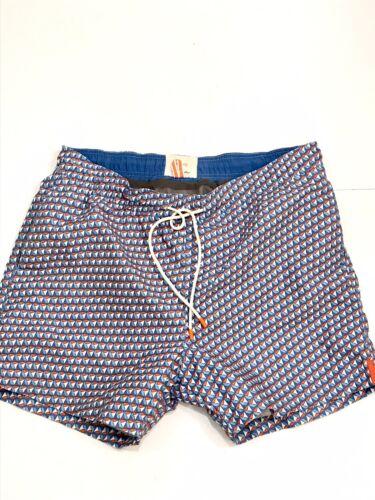SWIMS Men's Trunks Shorts Orange Luxury Gear Beach