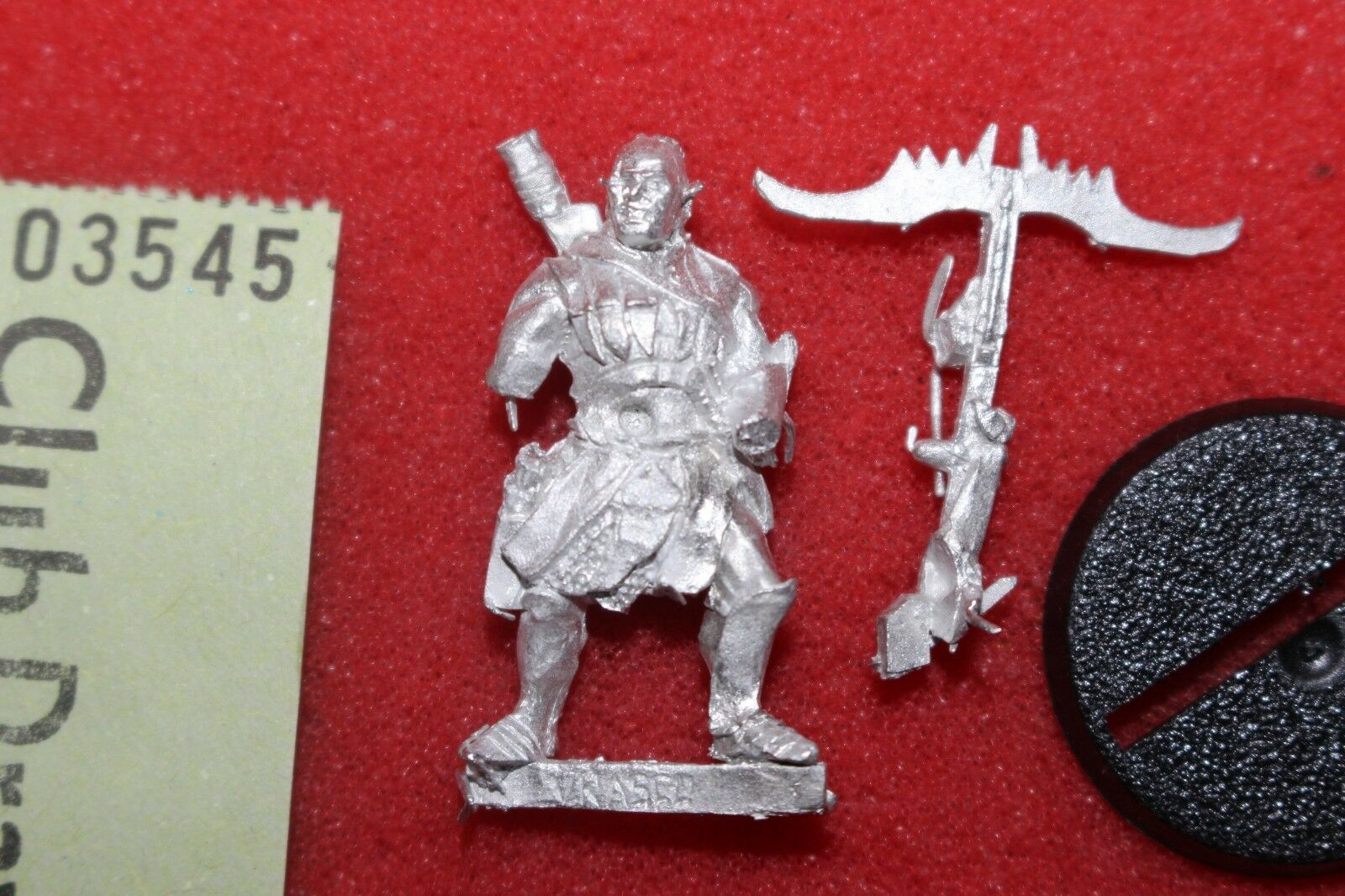 Games Workshop Lord of the Rings Vrasku Uruk Hai Isengard Captain Metal Orcs GW
