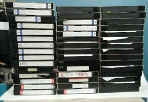 LOT-of-45-VHS-Tapes-Recorded-6-HOURS-T-120-Sold-As-Used-Blank-k4