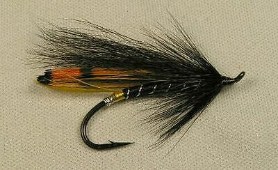 Black Dose - #4 hair wing Salmon / Steelhead Flies