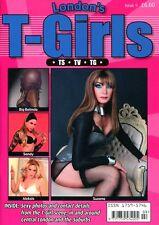 LONDON'S T-GIRLS CONTACTS #9  - Transvestite Cross-Dressing Lifestyle Magazine