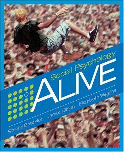 Social Psychology Alive von Breckler