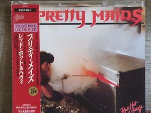 PRETTY-MAIDS-Red-Hot-And-Heavy-84-90-CD-Japan