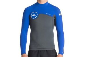 QUIKSILVER-Men-039-s-1-5-SYNCRO-Series-L-S-WETSUIT-TOP-XKPW-Size-Large-LAST-ONE-LEFT