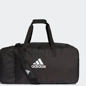 f197c854abfe Image is loading Adidas-DQ1067-Tiro-Large-Duffel-bag-black-white