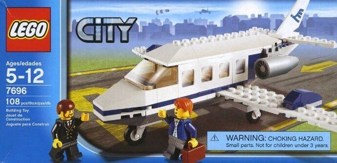Neu Lego Stadt Stadt 7696 Cummuter Flugzeug Verpackt