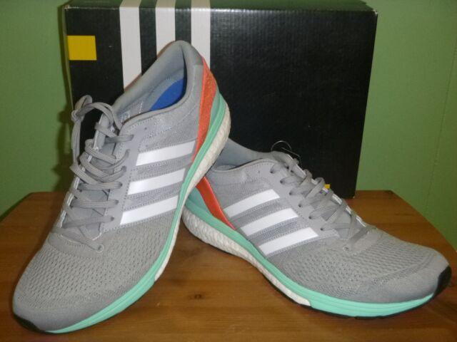 adidas Adizero Boston 6 Women s Running Shoes Sz.12 US Grey NWOB for ... e9952fb45
