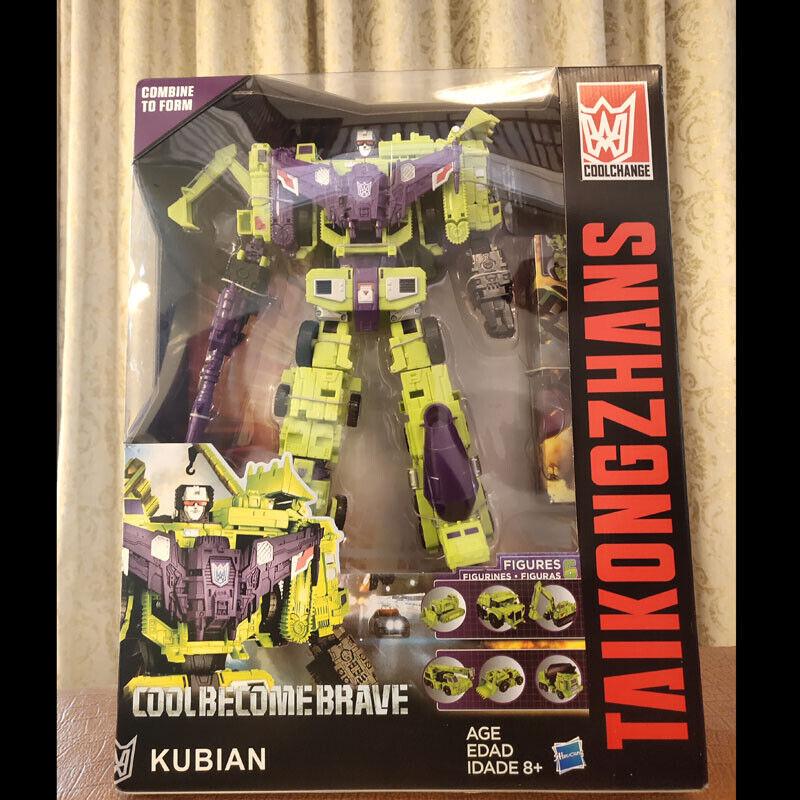 Nuevo Figura de Transformers Hasbro IDW Devastator Ko En Caja