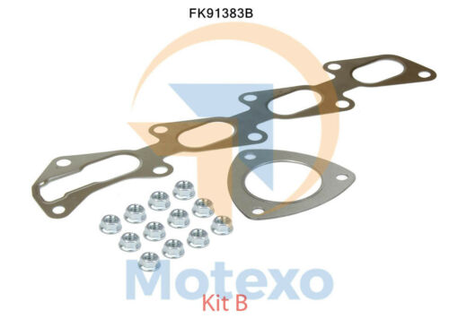 2yr Warranty BM91383H Exhaust Approved Petrol Catalytic Converter Fitting Kit