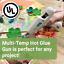 AdTech Dual Temp Mini Detail Glue Gun Precise Nozzle 23 Watts 50 Glue Sticks