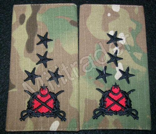 Turkey Turkish Army General Slip-on Epaulets